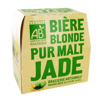 Bière Blonde Pur Malt Jade