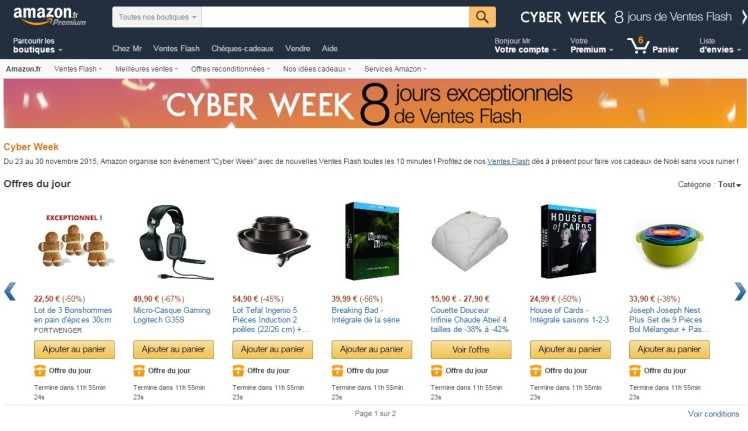 Amazon FR Cyber WeekDeals Page 9