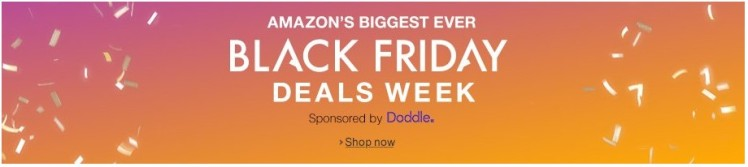 Amazon UK Black Friday Deals Week 4
