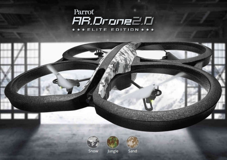 Parrot AR Drone 20 Elite edition