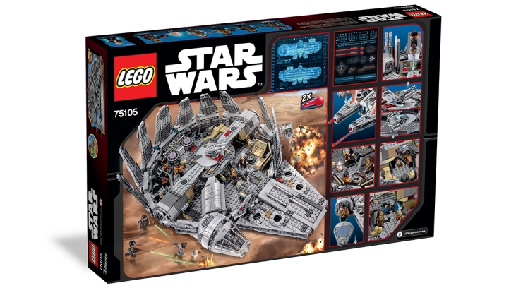 Star Wars Millennium Falcon – 75105
